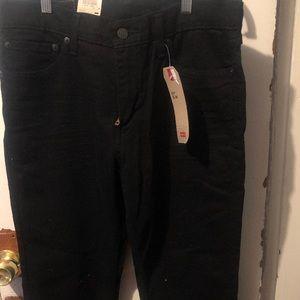 Levi 511 slim 33x32 black jeans !